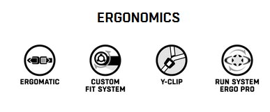 die ergonomie des helms ist wichtig - weil sie ihn sehr lange tragen
