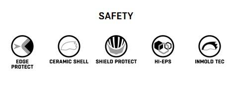 die sicherheit eines fahrradhelmes steht an oberster stelle