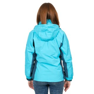 TRESPASS 3 in 1 Jacke Evita Damen - Aquamarin Blau