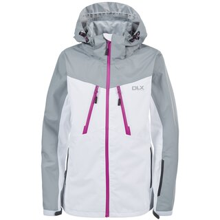 TRESPASS DLX Outdoor Jacke Calissa Damen - Weiss/Grau