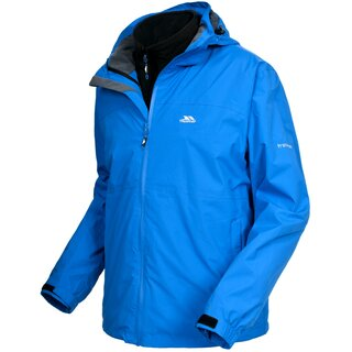 TRESPASS 3 in 1 Jacke Matheson Herren - Blau