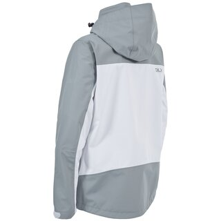 TRESPASS DLX Outdoor Jacke Calissa Damen - Weiss/Grau XL