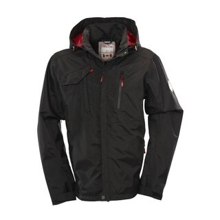 FIFTY FIVE Regenjacke Rocky Bay Herren - Black XL