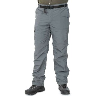 TRESPASS Outdoorhose Zip-Off Rynne Herren - Carbon S