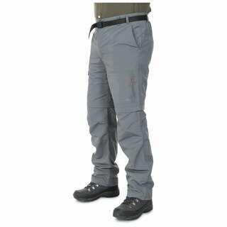 TRESPASS Outdoorhose Zip-Off Rynne Herren - Carbon L