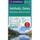 KOMPASS Wanderkarte Antholz Gsies  - WK 057