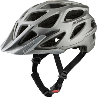 ALPINA MTB Helm Mythos - dark-silver matt